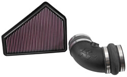 K&N 63-3086 air intake system for Cadillac CTS-V