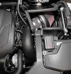 Roto-molded air intake tubes allow K&N the most freedom of design and offer OE fit and finish
