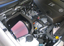 Toyota Tacoma Air Intake Installed
