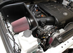 2012 to 2016 Toyota Tundra 5.7L with K&N Air Intake Installed