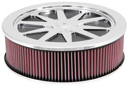 V8 powered Impala SS models can be improved with the addition of a variety of different K&N  air cleaners