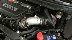 K&N Air Intake Installed on a 2012 to 2015 Honda Civic Si 2.4L