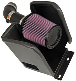 K&N Engineering 69-2543TTK air intake system for the Dodge Avenger with a 3.5 liter V6 engine