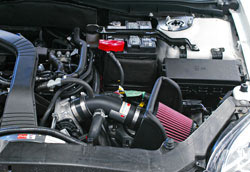 K&N air intake 69-3514TTK was dyno tested and shown to make an estimated 6.05 more horsepower on a 2006 Ford Fusion 2.3L