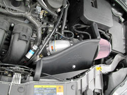 K&N Air Intake Installed on a 2012 Ford Focus 2.0L SULEV PZEV