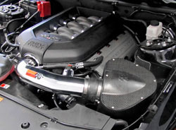 K&N Air Intake Installed on a 2011 Ford Mustang GT 5.0L
