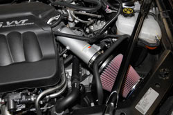 K&N Air Intake under the hood of 2013 Chevrolet Impala 3.6L