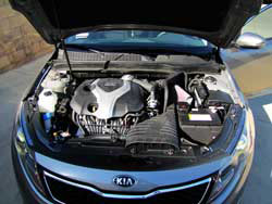 K&N Air Intake Installed on 2013 Kia Optima 2.0L