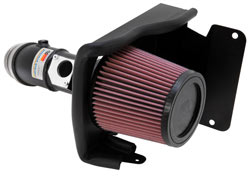 K&N Air Intake System for 2009-2013 Mazda 6 with the 2.5L engine.