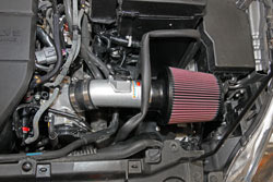 K&N Short Ram Intake 69-6031TS is powdercoated in a silver color to protect the tube and look good under the hood of the 2011-2013 Mazda 3 2.0L non Skyactiv engine models