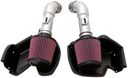 K&N's 69-7078TS High-Flow Intake System for Nissan 370Z and Infiniti G37 3.7L V6 models.