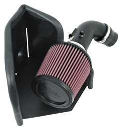 2007 Toyota Camry 2.4L L4 air intake systems from K&N.