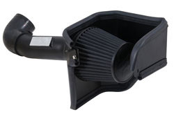 K&N Blackhawk Induction air intake system for the 2014 Dodge Challenger, Dodge Magnum and Chrysler 300c