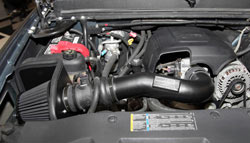 The GMT900 & K2XX Silverado K&N Blackhawk Induction System is designed for performance and s