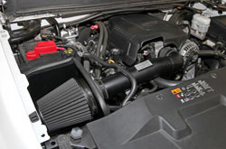 K&N Blackhawk Air Intake installed on a Chevy Truck
