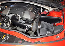 K&N Blackhawk Induction™ Air Intake System installed on Chevy Camaro 6.2L