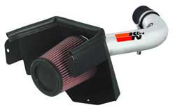 K&N air intake for 2007-2011 Jeep Wrangler JK 3.8L V6 models