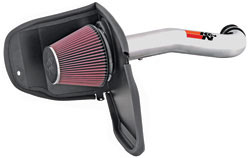K&N's 77-1559KP Performance Air Intake System for 2008 and 2009 Jeep Liberty 3.7L V6
