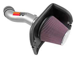 By replacing the stock hosing & enclosed air box of 2014-2016 Jeep Cherokee 3.2L models a K&N air intake is able to improve performance