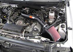 Ford F150 SVT Raptor 6.2L Air Intake Installed