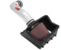 If you own a 2009-2010 4.6L F-150 and prefer the polished look, the K&N 77-2580KP intake is for