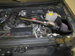 K&N Air Intake Installed on 2011 Ford F-150 6.2L