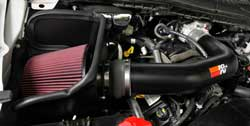 K&N Air Intake Kit for Ford F-250 & F-350 Super Duty
