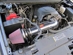 A K&N 77-Series Intake can boost power on the GMT900 & K2XX Chevy Silverado