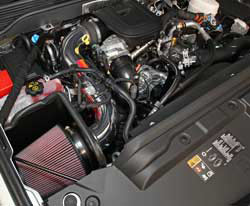 K&N diesel air intake upgrade will provide a guaranteed boost in horsepower and torque