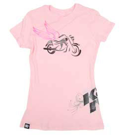 K&N Women's Winged Chopper T-Shirt