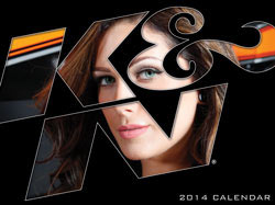 K&N 2014 Calendar Front Cover