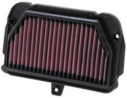AL-1010 replacement air filter for 2009-2011 Aprilia RSV4s.