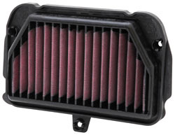 AL-1010R race spec replacement air filter for 2009-2011 Aprilia RSV4s.