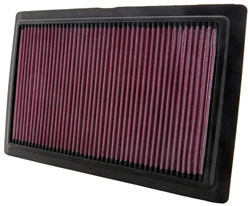 K&N BU-1108 lifetime replacement air filter for the Buell 1125R and Buell 1125CR