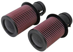 Replacement Air Filters for select Audi R8 and Lamorghini Gallardo models