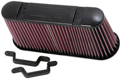 Replacement Air Filter for 2006 to 2013 Chevy Corvette