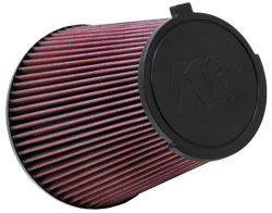 Replacement Air Filter for 2010-2014 Ford Mustang Shelby GT500 5.4L.