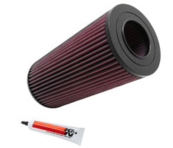 K&N's Lifetime Replacement Air Filter E-2984 for the 2003 and 2004 Diesel Mahindra Scorpio