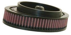 K&N air filter E-3972 used in K&N's RK 3930 high flow air filter assembly for Harley Davidson Touring models