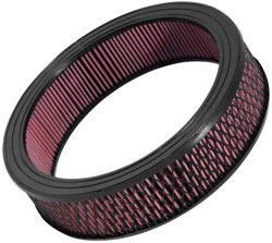 K&N E-3977XD Extreme Duty air filter has outside diameter and height of 16 inches by 4 inches