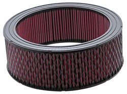 K&N E-3978XD Extreme Duty air filter has an outside diameter of 14 inches and a height of 5 inches