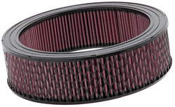 K&N E-3979XD Extreme Duty air filter has an outside outside diameter of 14 inches and a height of 4 inches