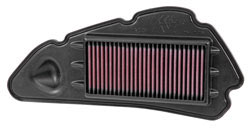 K&N Replacement Air Filter for 2013 to 2014 Honda SH125 and SH150i