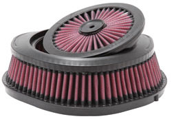 K&N XStream Series Motocross Air Filter part number HA-2505XD