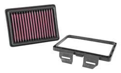 K&N performance air filter for 2013-2015 Honda CRF250L dual-sport