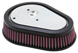 K&N HD-0808 Air Filter for Harley Dyna Models