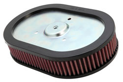 Replacement Air Filter for some 2009, 2010, 2011, 2012. 2013, 2014, 2015 and 2016 Harley Davidson equipped with Screamin' Eagle Ventilator Performance System