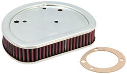 Replacement Air Filter for newer Harley® Softail Cross Bones and Backline models