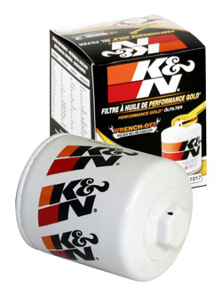 The Chevy Silverado K&N Wrench-off Oil Filter offers max filtration & damage resistance