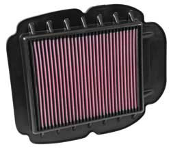 K&N air filter for 2010-2013 Hyosung GT650 and GT650R motorcycles